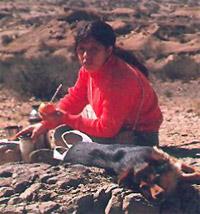 Mariana I. Gonzalez en Ischigualasto
