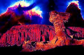 """Lugares """"arcaicos"""" como el """"Valle de la Luna son sitios de gran inspiración"""