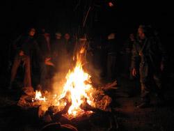 quemando lo malo del año que se va...