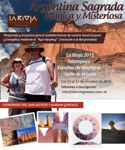 """Sariri La Rioja 2015 - """"Ayni Karphay"""" Estrellas de Vinchyna - Talampaya - Valle de la Luna @ Villa Unión, La Rioja, Argentina"""