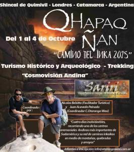 Qapaq Ñan - Camino del Inka 2015 - Catamarca - Argentina @ El Shincal, Londres, Catamarca, Argentina