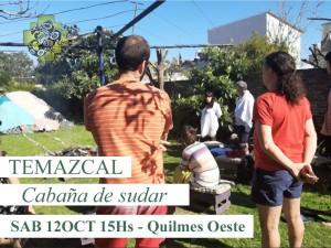 Ceremonia de Temazcal - Sábado 12 de Octubre, 14hs. @ Quilmes Oeste | Buenos Aires | Argentina