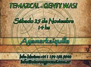 Ceremonia de Temazcal en Kenty Wasy - Sábado 25 de Noviembre, 14hs. @ Quilmes Oeste | Buenos Aires | Argentina